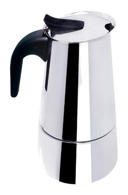 Mbr BC-40609 6 Cup Stainless Steel Stovetop Espresso Maker