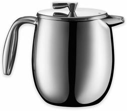 Bodum French Press Coffee Maker Double Wall Stainless Steel