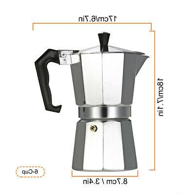 6-Cup Coffee Stovetop
