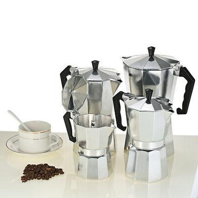 6-Cup Coffee Stovetop Pot for