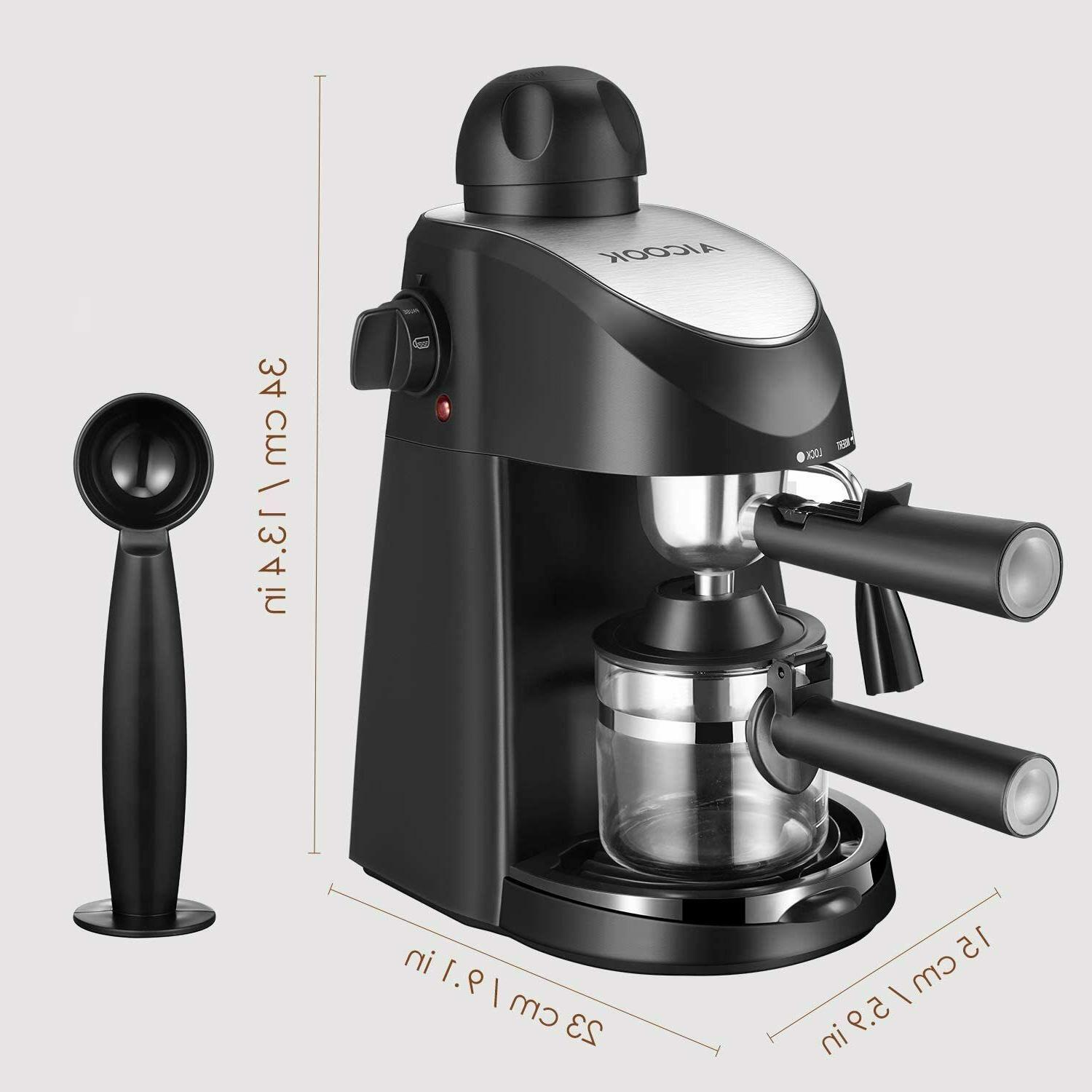 Cappuccino Espresso Maker Bar Cup With Frother Carafe
