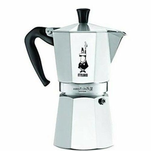 Bialetti Cuban and Espresso Coffee Makers. 6 cup