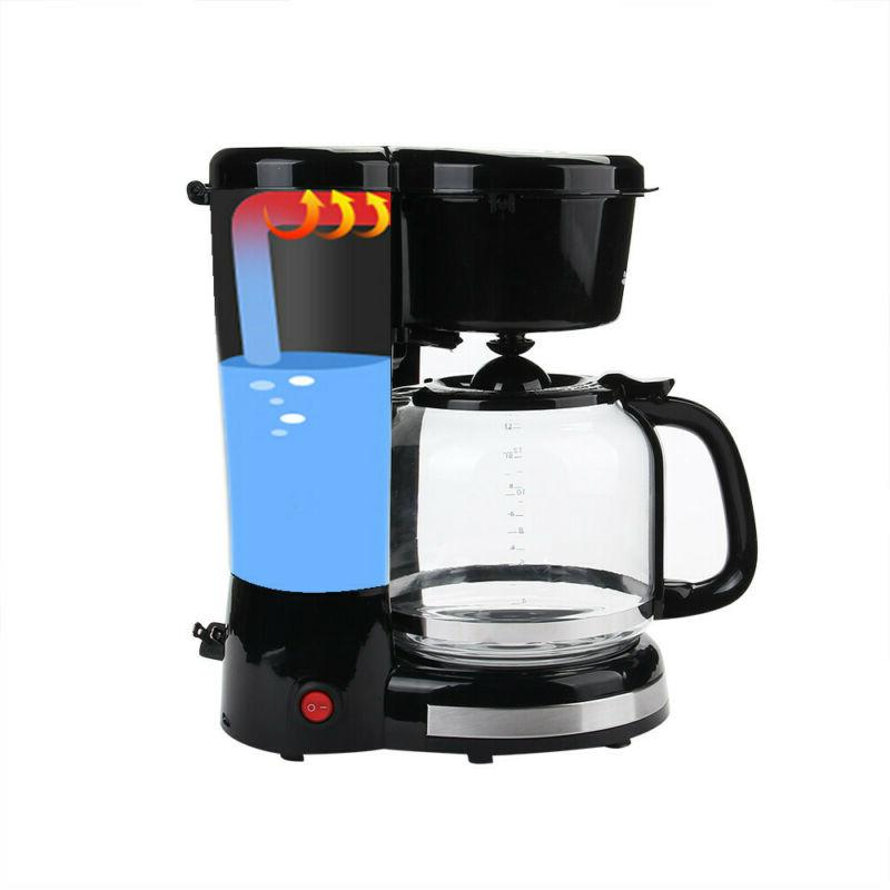 Home Automatic Coffee Maker Espresso with Carafe