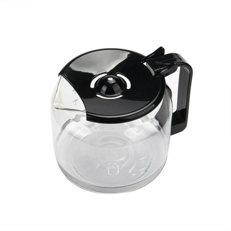 Home Electric Maker Espresso 10-Cup with Glass Carafe