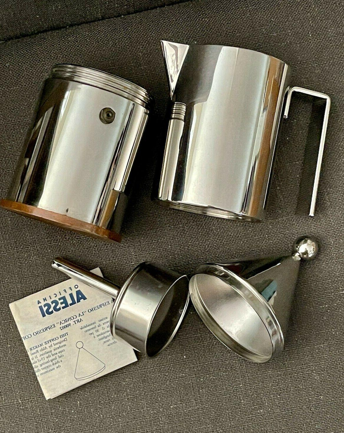 Alessi Cups Rossi - used 10x