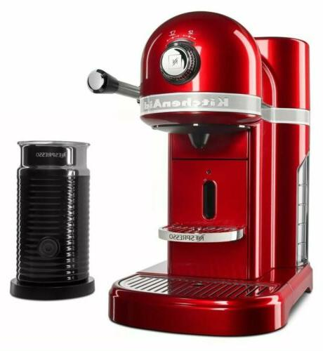 KitchenAid® Nespresso® Maker by with Milk Frother, KES0504