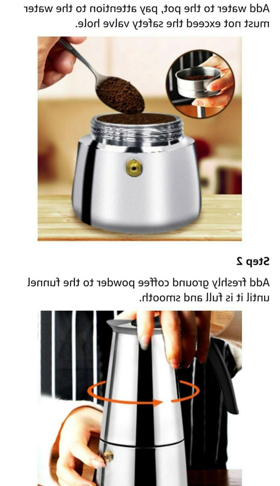 STAINLESS STEEL W/3 ML/ 7 CUP/1 =50ML