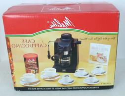 Melitta MEXKITB Espresso Maker with 20-Piece Kit Cafe Cappuc
