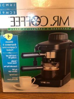 Mr. Coffee Steam Espresso and Cappuccino Coffee Maker 4 Cup