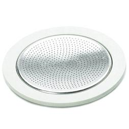 Bialetti Replacement Gasket and Filter For 3 Cup Stovetop Es