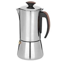 Trudeau Stainless Steel 16oz Espresso Maker