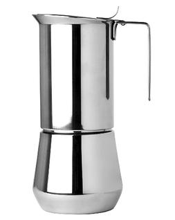 Stainless Steel 6 Cup Stovetop Espresso Maker Made In Europe
