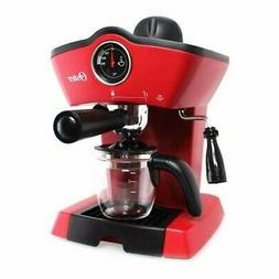 Oster Steam Espresso Cappuccino Maker Red Powerful download